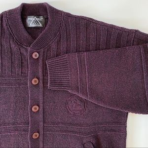 Vintage Grandpa Dad sweater cardigan
